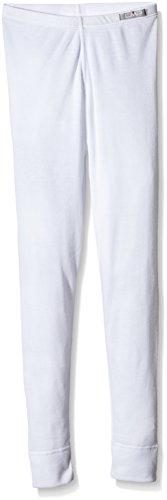 CMP Unisex Kinder Thermounterwäsche Hose, Weiß (Bianco), 116