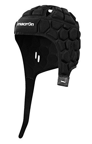 Casco Casco Protección Portero Fútbol/Rugby Helmet XE Macron, negro