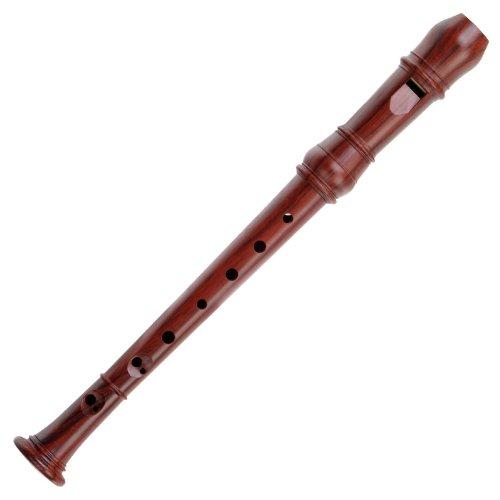 Classic Cantabile 25138 - Flauta dulce (en fa, sopranino, 3 piezas, de madera)