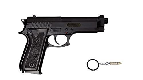 Pistola Airsoft replicas de Armas de Bolas Taurus Metálica Spring 0.5 Joule con Llavero AS95