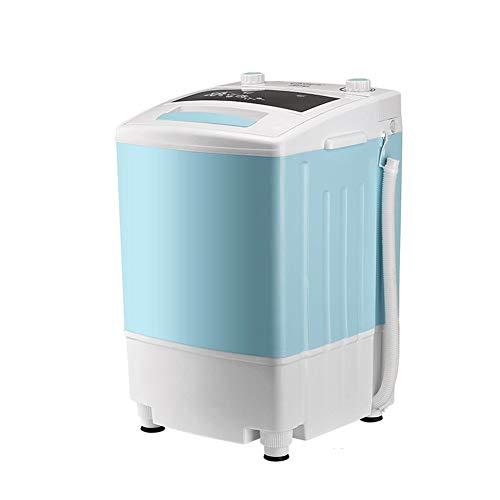 PNYGJM Mini Lavadora portátil de Zapatos Smart Lazy Desinfección automática Tecnología de microperforación estática ultrasónica Eliminación de olores (Color : Azul)