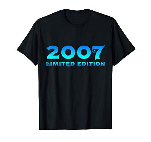 14. Geburtstag Junge Mädchen 14 Jahre 2007 Lustig Geschenk T-Shirt