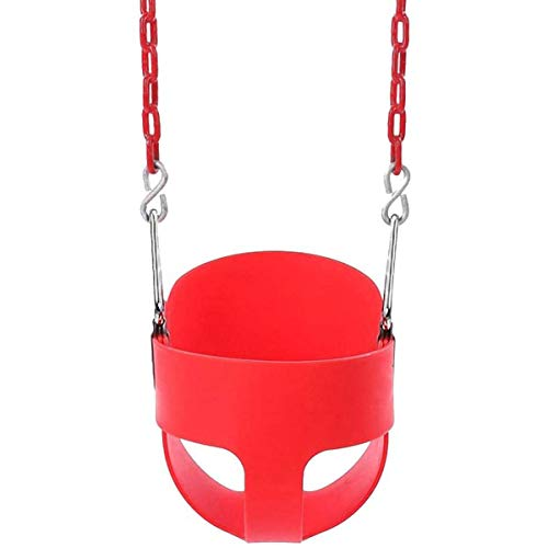 ASDFGHJKL Niños Columpio Swing ColumpioNiños Swing Seat Garden Swing Asiento para bebés y niños con Respaldo y cinturón de Seguridad Silla de Swing para niños