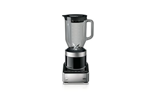 Braun PureMix Power Blender with Thermal Resistant Glass Jug - JB7350 - 1000 Watt - Black