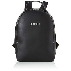31GevLE1FwL. SS300  - Tommy Hilfiger - Staple Dome Backpack, Mochilas Mujer, Negro (Black), 1x1x1 cm (W x H L)