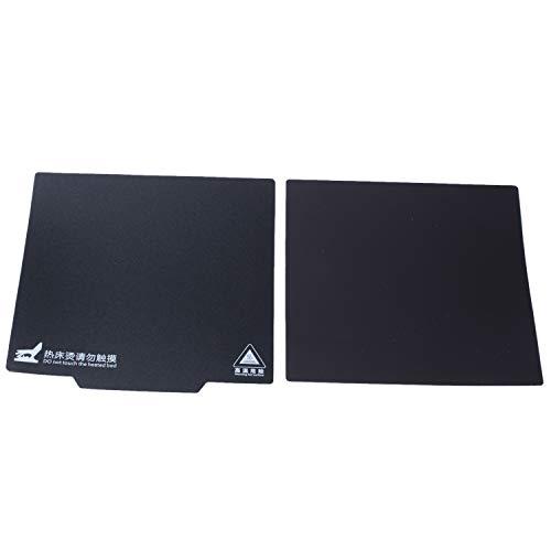 Wivarra Printer Magnetic Hot Bed Sticker Ultra-Flexible Removable 235x235mm Build Surface For Ender 3 Pro, Ender-3, Ender-3x, CR20