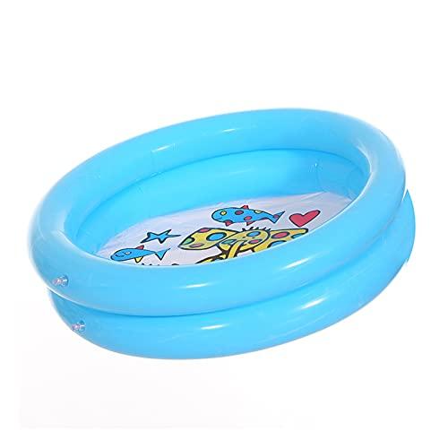 LQKYWNA 25.59 X 6.29 In Piscinas para Niños Piscina para Bebés Niños Verano Niños Juguetes Acuáticos para Familias Niños Pequeños Jardín para Niños