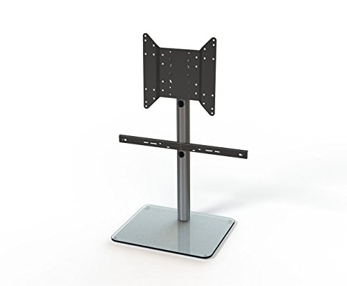 Just Racks TV-Möbel, Glas, Aluminium, 50 x 61 x 69.8 cm