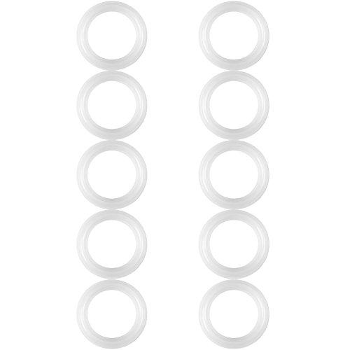 10 Stücke Silikon Dichtring Unterlegscheibe Set, 1,5