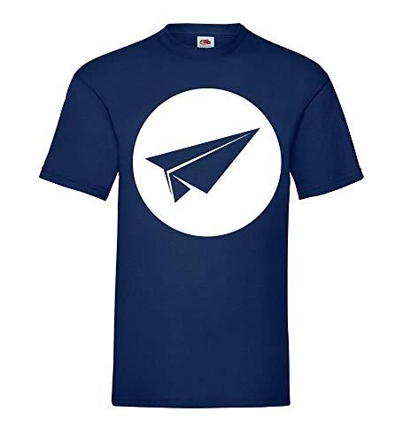 Papieren vlieger mannen T-shirt - shirt84.de