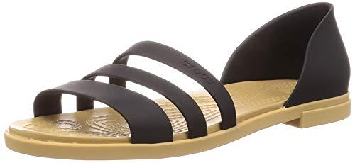 Crocs Damen 206109-00W outdoor sandals, Black, 37/38 EU