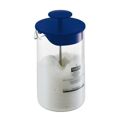 Bodum AERIUS montalatte, Color blu oltremare speciale shirtzshop, circa 0,8 l può contenere fino a 250 ml di latte