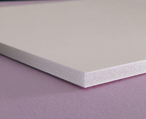 "White E-PVC 24"" X 24"" X 3MM (0.118"") Foam Boards"