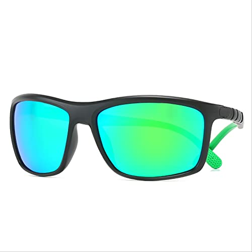 ODNJEMSD Nuevas Gafas De Sol Polarizadas Gafas De Sol Deportivas con Película En Color