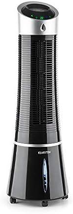Klarstein Skyscraper Ice Black Edition • Enfriador 4 en 1 • Potencia 30W • Caudal 210m³/h • Ventilador • Purificador • Humidificador • 3 Modos: Normal, Natural y Nocturno • Negro