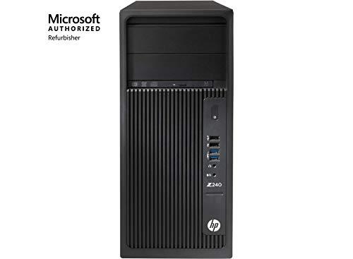 HP Workstation Z240 Tower, Intel Core i7, 16GB RAM, 512GB SSD, Win10 Pro (Renewed)