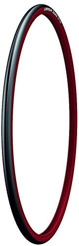 Michelin Dynamic Sport 700X23 - Cubierta de bicicleta, color negro/rojo