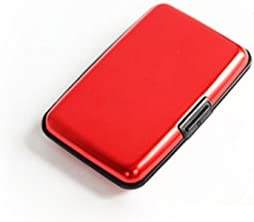 OAIMYY Assorted Colors Waterproof Business Id Credit Card Wallet Holder Smooth Aluminium Metal product image