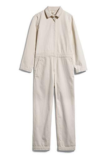 ARMEDANGELS ALEAA UNDYED - Damen Jumpsuit aus Bio-Baumwoll Mix XS Undyed Denims / 5 Pockets Latzhose Oversize