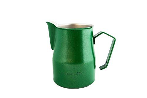 Dritan Alsela professionale Bricchetto per latte, antiaderente, lattiera verde 750ml