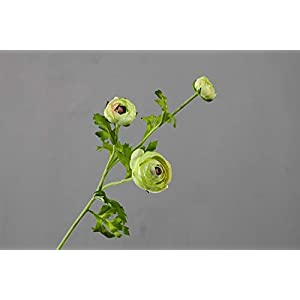 Choolle – 6pcs 53cm Artificial Ranunculus European Style High-End Home Decoration Simulation Flower Wholesale Wedding Ceremony Decoration