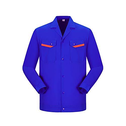 YJKJ Chaqueta de trabajo, chaqueta de trabajo, ropa de trabajo, soldadura eléctrica,...