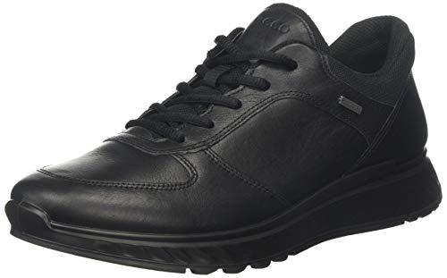 Ecco Herren EXOSTRIDEM Sneaker, Schwarz (Black 1001), 42 EU