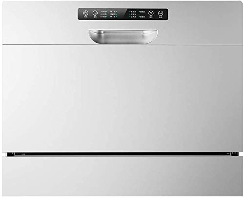 WYZXR Lave-Vaisselle de Table 1250W pour 4-6 Personnes, Lave-Vaisselle de Cuisine encastré, Nettoyage Rapide, économe en énergie, Vaisselle sèche-220V