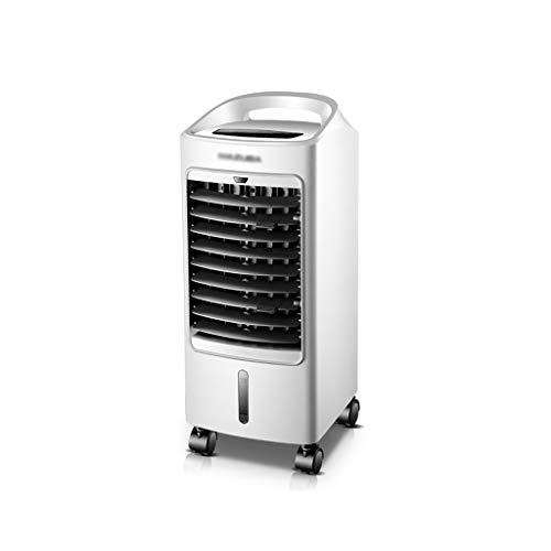 Air Cooler Enfriador Evaporativo,Frio Circulador Climatizador De Aire Nebulizador Portatil Mando A Distancia Ventilador Sin Aspas, Ventilador Silencioso,Dormir
