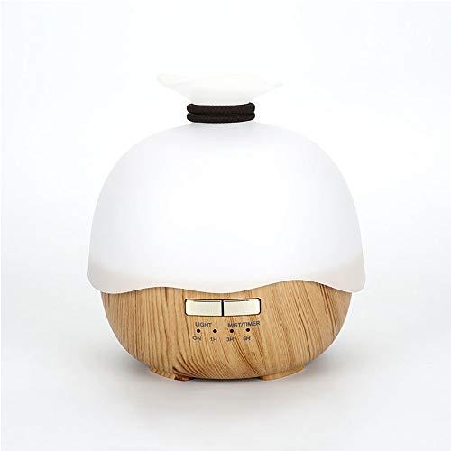 DevileLover USB Aromaterapia Máquina de Aromaterapia Humidificador de Aire Material Ultrasonido ABS Humidificador de Niebla Fría para Yoga, SPA, Masajes, Meditación
