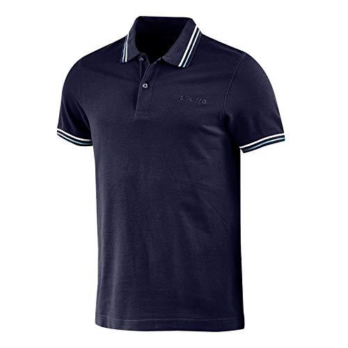 Lotto Polo Uomo T-Shirt Piquet Cotone Mare Tennis Barca Calcio Sport L73 PQ PJ Taglia XL Colore Principale Nvy DP/Cry BL