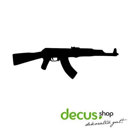 Decus AK 47    Sticker OEM JDM Style.