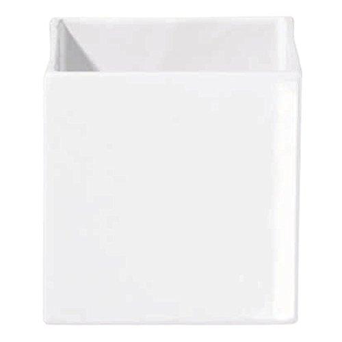 ASA QUADRO pot keramiek, wit, 15x15x15 cm