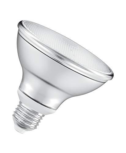 OSRAM Spot PAR30 Lampadina LED, 10 W Equivalenti 75 W, Attacco E27, Luce Calda 2700K, Confezione da 1 Pezzo