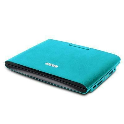 PCT Brands 70667-PG Cinematix Slim Design Portable DVD Player Turquoise