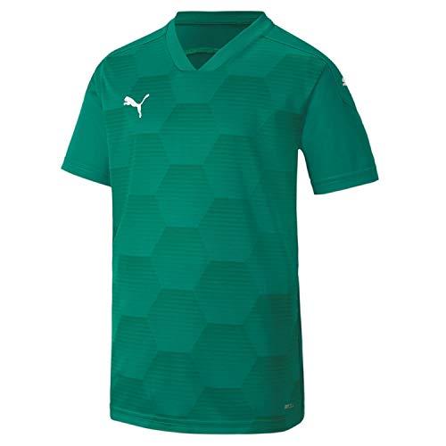 PUMA teamFINAL 21 GraphicJerseyJr Camiseta, Niños, Green, 164 cm