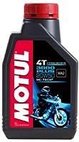 MOTUL(モチュール)3000 PLUS 4T 20W50 1L バイク用ミネラルオイル [正規品]