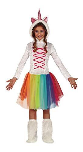 Fiestas Guirca Costume Unicorno Multicolore Bambina Ragazza