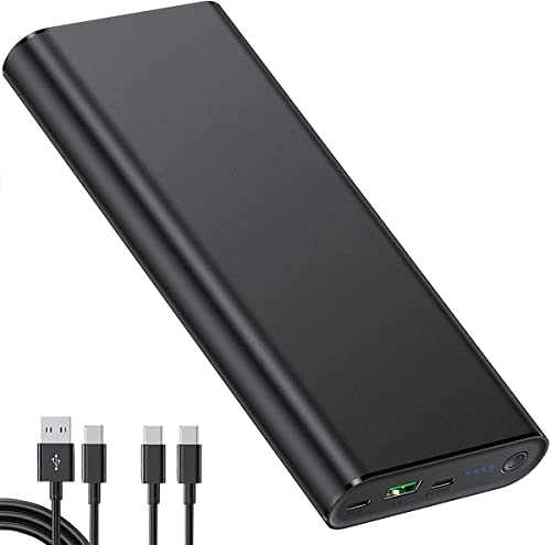 2 USB-C Ports Laptop Power Bank, PD 100W 26800mAh Quick Charge Portable Laptop Charger, Fast Charging External Battery Pack for MacBook, iPhone, Samsung, HP, Dell, Lenovo and More