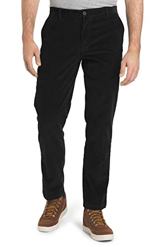 IZOD Men's Tailgate Stretch Flat Front Straight Fit Corduroy Pant,...