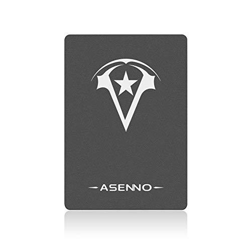 ASENNO 480GB 512GB 500GB 2,5 Pulgadas SSD con 512MB de Memoria SATAIII 6 GB/s de Disco Duro Interno de Estado sólido para Notebook Tablet PC de Escritorio