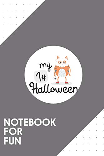 Notebook for Fun: Dotted Journal with My First Halloween Cat Skull Design - Cool Gift for a friend or family who loves costume presents! | 6x9