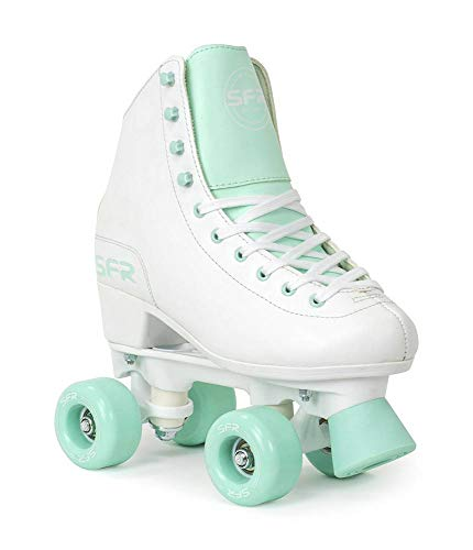 SFR Figure Rollschuhe weiß-Mint Mädchen weiß-grün, 34
