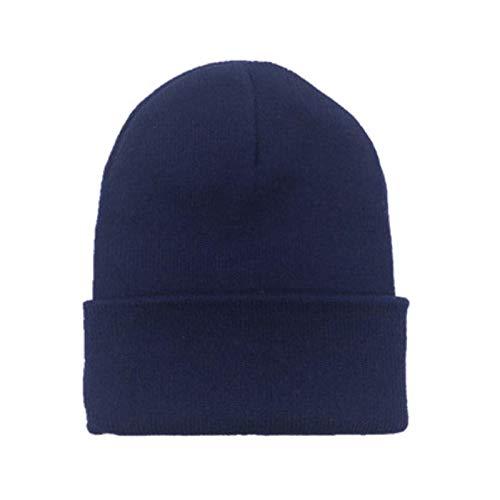 YQHWLKJ Mädchen Wollmützen gestrickt süße Hüte weibliche Mütze Hüte warme...