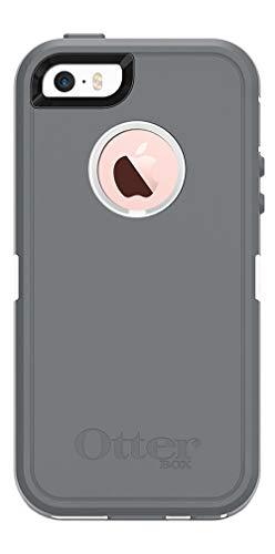 OtterBox Defender Series Case for Apple iPhone SE, iPhone 5s, iPhone 5 (Case Only, No Holster) Non-Retail Packaging - Glacier
