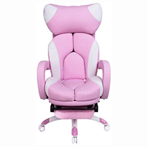 Big Shark Gaming Chair High Back Racing Stuhl mit Verstellbarer Armlehne Spiel Stuhl mit Lendenwirbelstütze for Männer und Frauen Ergonomischer Stuhl Drehstuhl Spiel Stuhl, Sofa, Stuhl