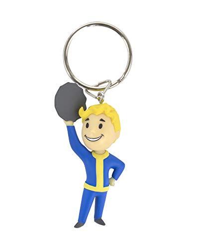 Fallout 76 Vault Boy Barter 3D Keychain