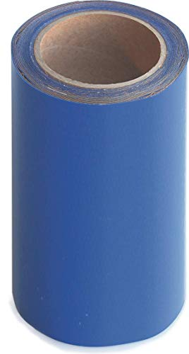 Wupsi PVC-Planen-Reparaturband - Klebeband zur Reparatur von Löchern & Rissen an LKW-Plane, Anhängerabdeckung, Markise & Zelt - Blau, 20 cm X 5 m