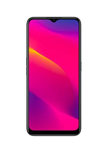 OPPO A5 2020 Smartphone débloqué 4G - Batterie 5000 mAh - Double Haut-parleurs stéréo - USB-C et Prise Jack 3.5mm - 64 Go ROM Extensible Via Micro SD - Android 9 – Téléphone Portable Noir Onyx