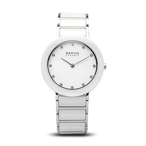 BERING Damen-Armbanduhr Analog Quarz Edelstahl 11429-754